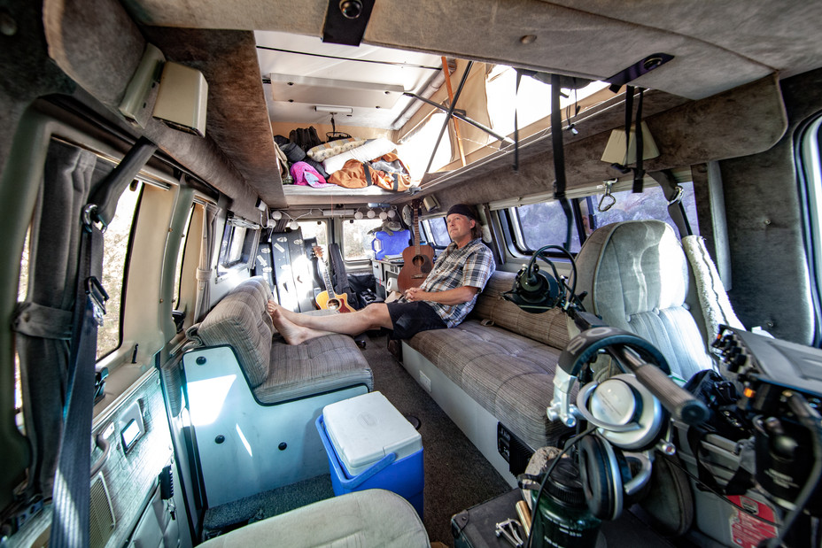 Music studio on wheels
