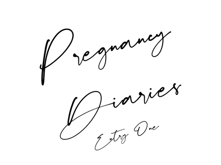 Pregnancy Diaries - Entry One