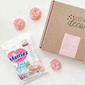 MERRIES, la marca premium de pañales que está presente en nuestras LD! Box