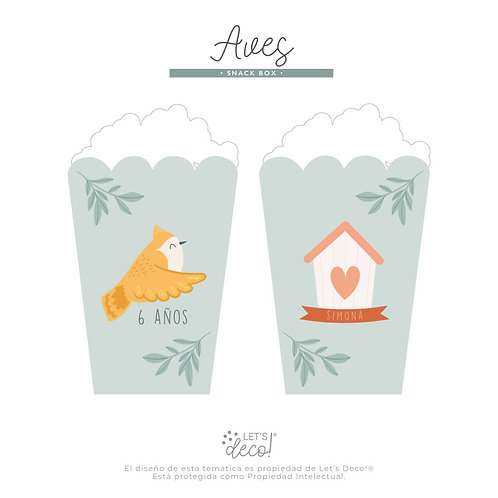 Aves • Snack Box
