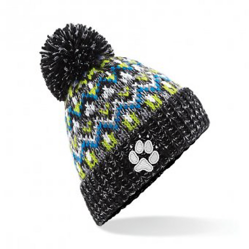 Crazydogs  - 1 Paw  - BB458 Blizzard Bobble Hat