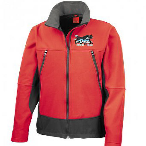 Darleyfalls Border Collies - R120 Soft Shell Activity Jacket