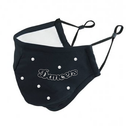 Dancers -  Swarovski Crystal - PR796 Anti-Bacterial Face Cover