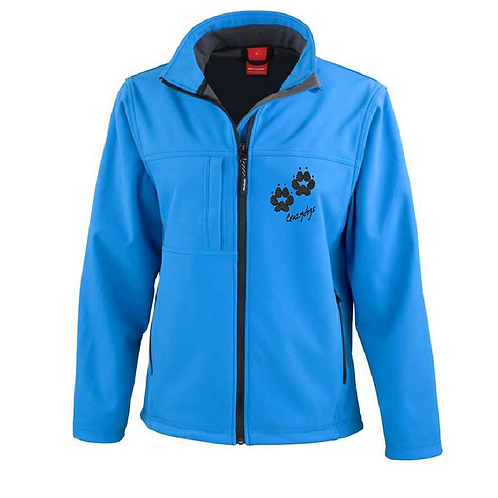 R121F Ladies Soft Shell Jacket - 4Paws