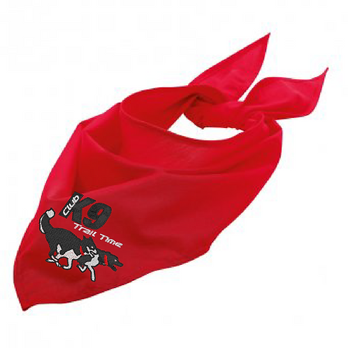 K9 Trail Time Club - CDB01 Dog Bandana