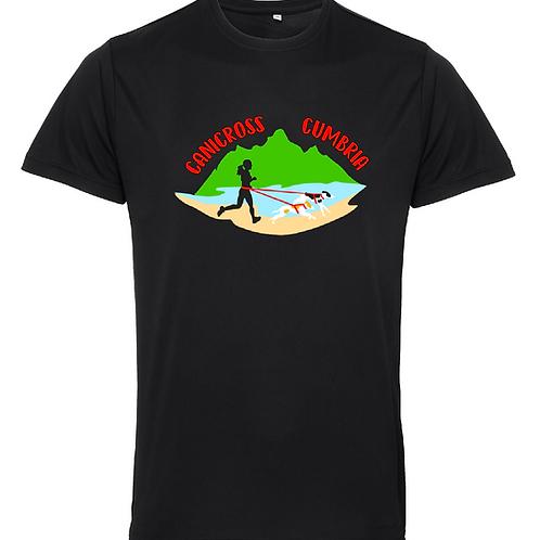 Canicross Cumbria - TR010 Unisex Performance Shirt