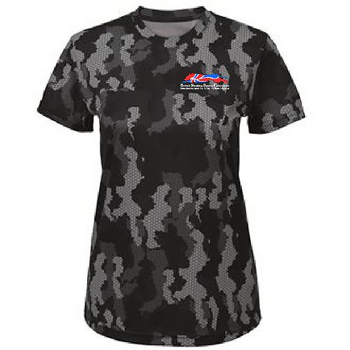 BSSF - TR025 Ladies Performance Camo Shirt