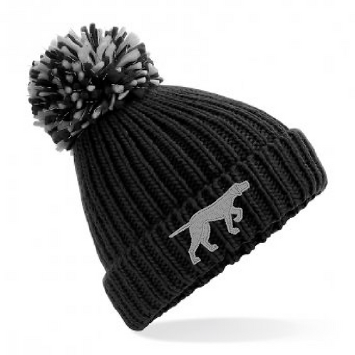 GSP Rescue UK  - Pointy - BB409 Shimmer Pom Pom Hat
