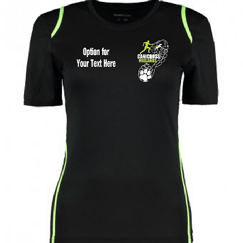 Canicross Midlands - KK966 Ladies Performance Shirt