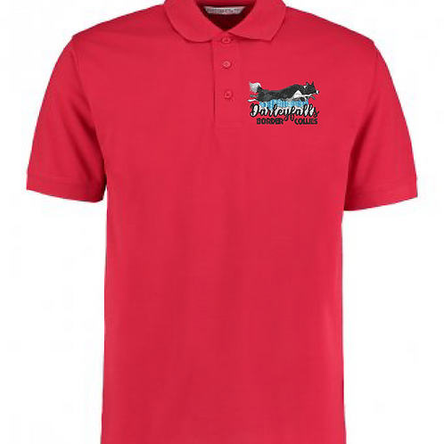Darleyfalls Border Collies - K403 Unisex Polo Shirt