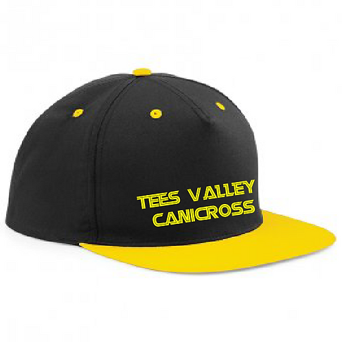 Tees Valley Canicross - Flat Peak Snapback Cap BB610C