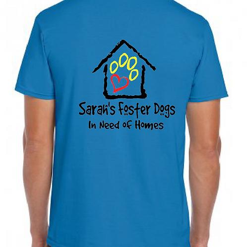 Sarah's Foster Dogs - SFD - XL Logo - GD01 Unisex T-Shirt
