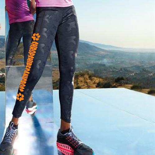 Shropshire Canicross - TR038 Ladies Performance Camo Leggings