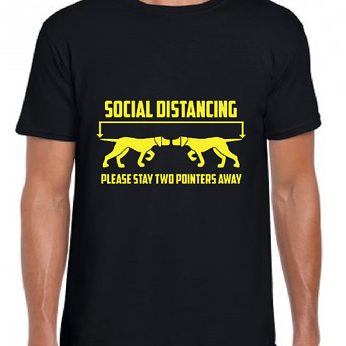 GSP Rescue UK - Social Distancing Pointer Style - GD01 Unisex T-Shirt
