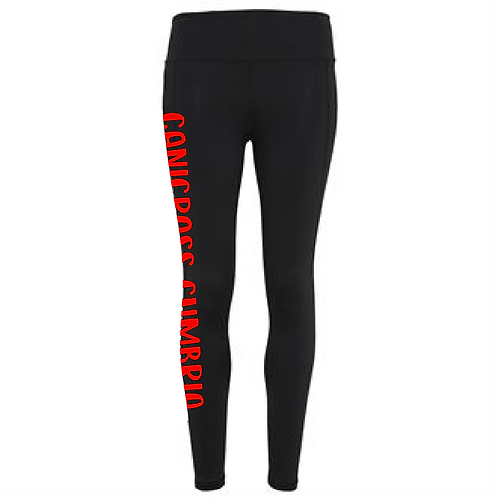 Canicross Cumbria - TR031 Ladies Performance Leggings