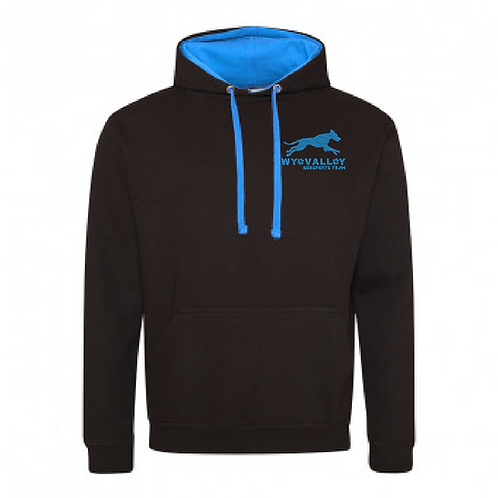 Wye Valley Dogsports Team - JH003 2Tone Hoodie