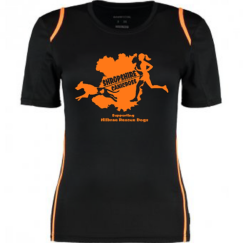 Shropshire Canicross - KK966 Ladies Performance Shirt