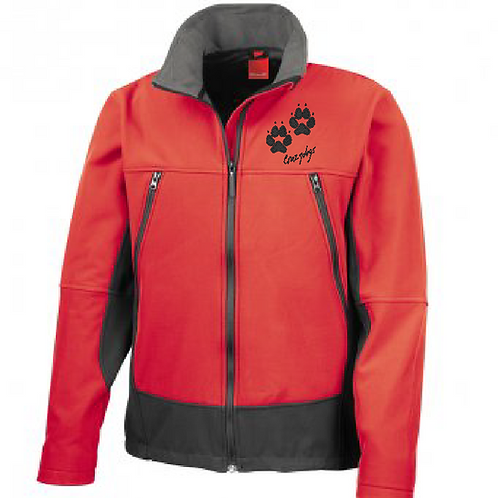 R120 Unisex Soft Shell Jacket - XL Paw