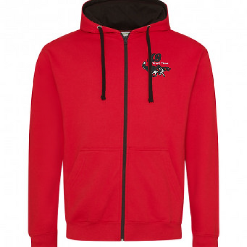 Team K9 Trail Time - JH053 2Tone Full Zip Hoodie