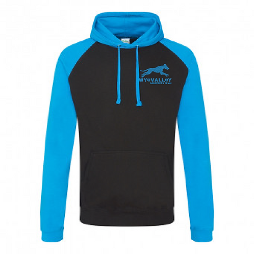 Wye Valley Dogsports Team - JH009 2Tone Hoodie