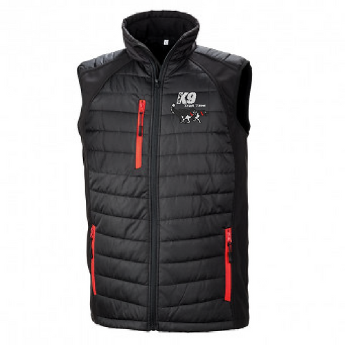 Team K9 Trail Time - R238M Shell/Puffa Bodywarmer