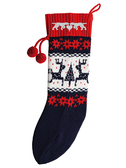 GSP Rescue UK -  Pointer Love Christmas Stocking - CDS002