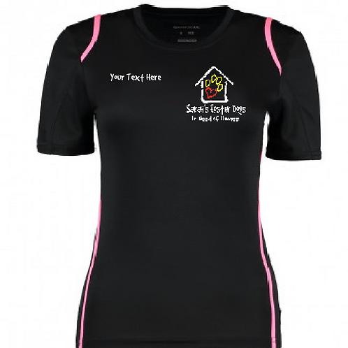 Sarah's Foster Dogs in Need - SFD XL Logo - KK966 Ladies Performance Shirt