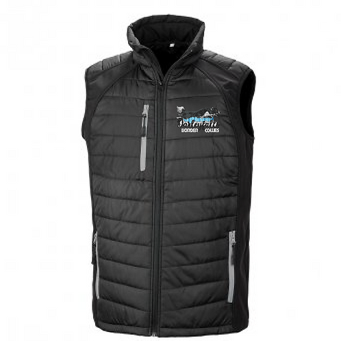 Darleyfalls Border Collies - R238M Shell/Puffa Bodywarmer