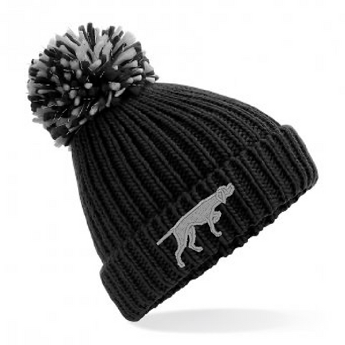 Pointers In Need  - English Pointer - BB409 Shimmer Pom Pom Hat