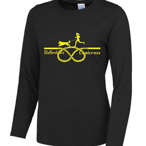 Staffordshire Canicross - JC012 Ladies Performance Shirt
