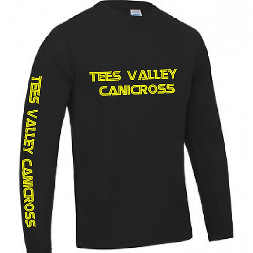 Tees Valley Canicross - JC002 Unisex Performance L/S Shirt
