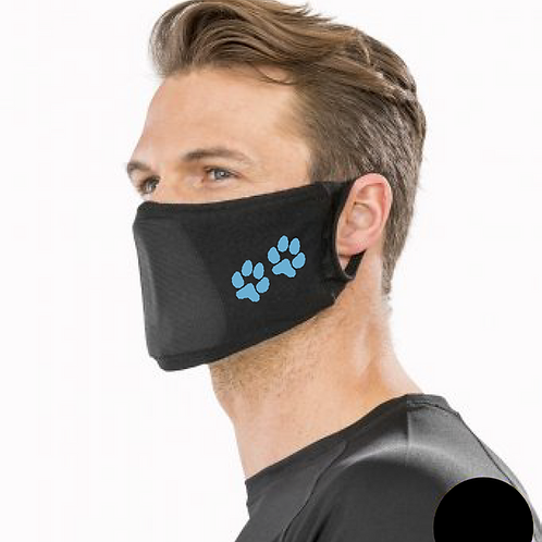 Crazydogs - 2 Paws - RV009 Result Anti-Bacterial Face Cover