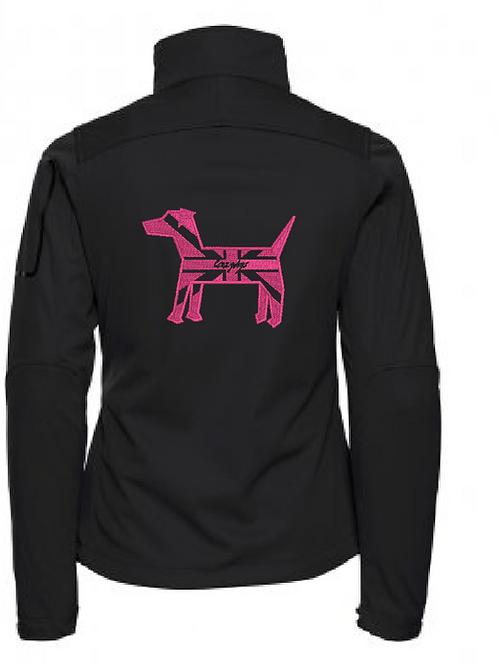 R122F Ladies Soft Shell Jacket - Crazydogs Jack