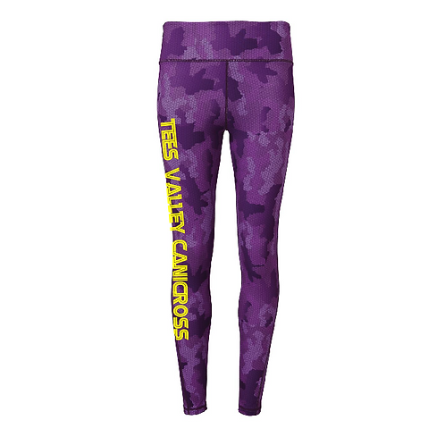 Tees Valley Canicross - TR032 Ladies Performance Camo Leggings