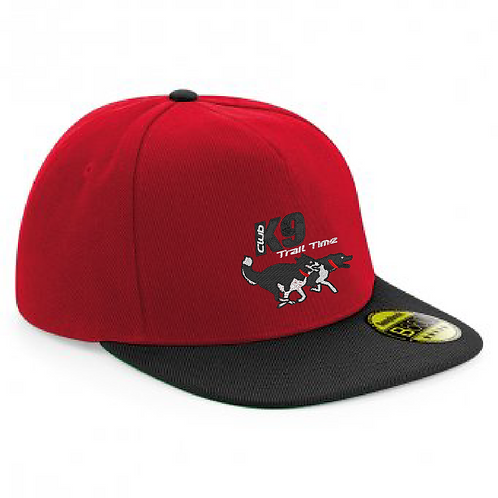 K9 Trail Time Club - Flat Peak Snapback Cap BB660