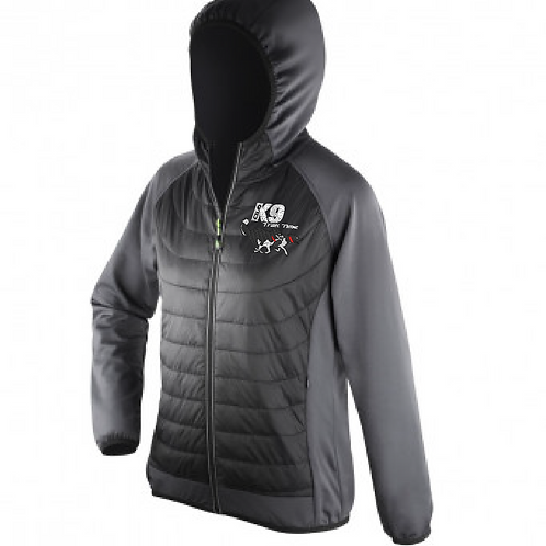 Team K9 Trail Time - R268F Ladies Performance Shell/Puffa Jacket