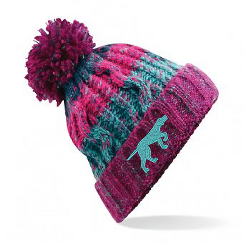 GSP Rescue UK  - Pointy - BB486 Corkscrew Bobble Hat