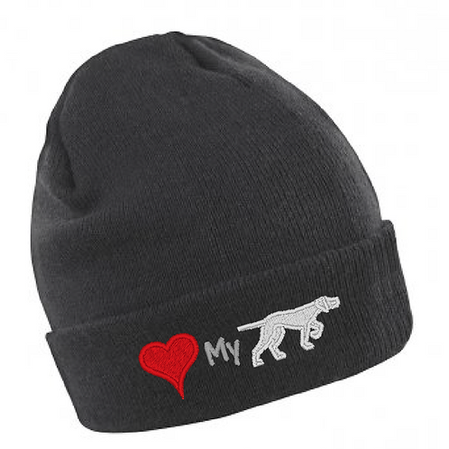 GSP Rescue UK  - Heart My Pointy - RC133 Thinsulate Beanie