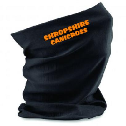 Shropshire Canicross - Text Design - Morf B900