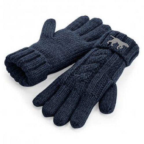 GSP Rescue UK  - Pointy - BB497 Cable Knit Melange Gloves