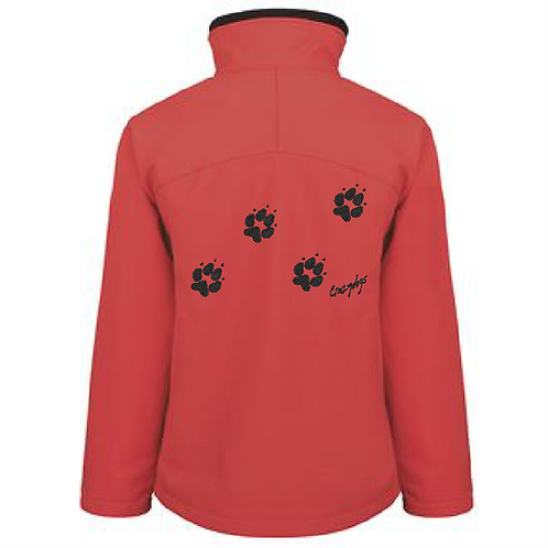 R122F Ladies Soft Shell Jacket - 4 Paws