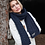 Thumbnail: GSP Rescue UK  - Pointy - BB499 Cable Knit Melange Scarf