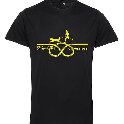 Staffordshire Canicross - TR010 Unisex Performance Shirt