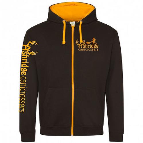 Ashridge Canicrossers - JH053 2Tone Full Zip Hoodie