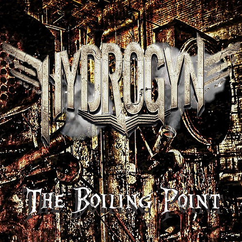 "HYDROGYN ""THE BOILING POINT"" CD-DIGIPACK"