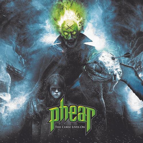 """PHEAR - """"THE CURSE LIVES ON"""" - CD - DIGIPACK"""