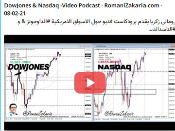 DowJones & Nasdaq - public Video Broadcast - 08/02/2021