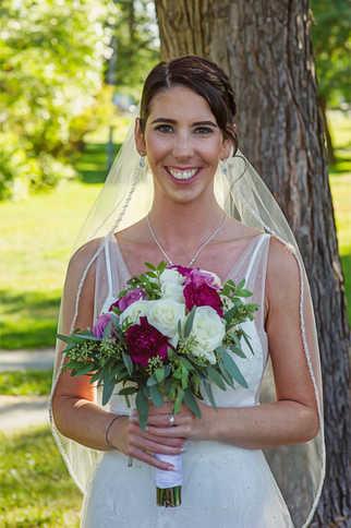 bridal makeup and hair