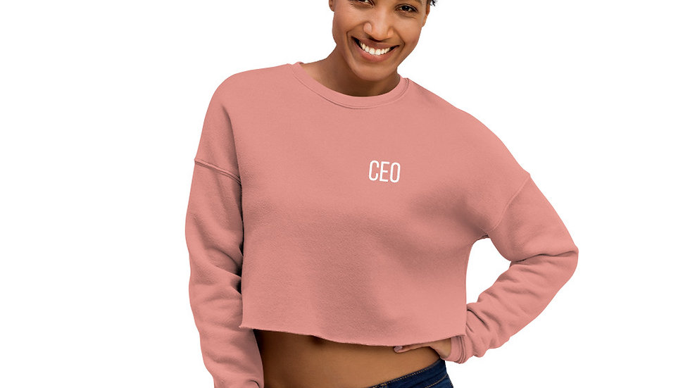 CEO Crop Sweatshirt