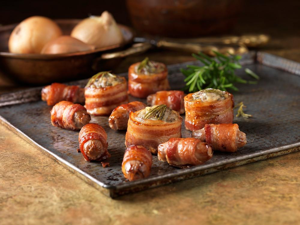 Enroladinho Bacon colesterol